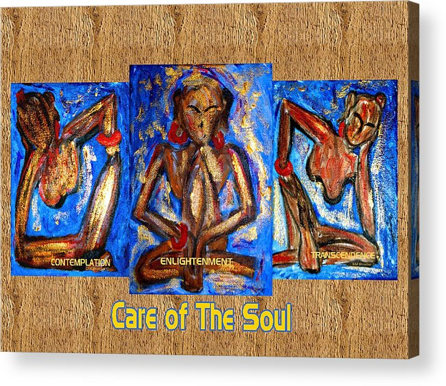 Soul Acrylic Print featuring the painting Care Of The Soul by Donna Proctor