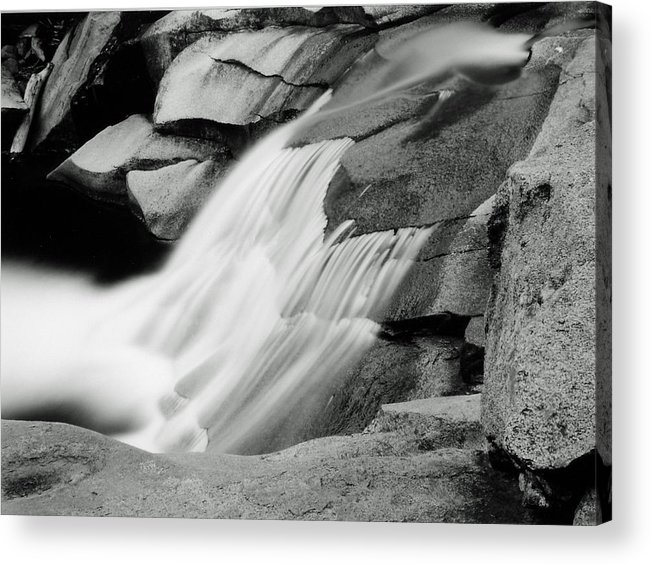 Landscape Acrylic Print featuring the photograph Cascade 2 by Allan McConnell