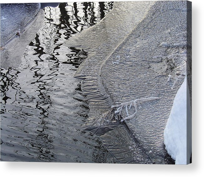 Nature Acrylic Print featuring the photograph Cold Enough To Frost A Stick by Terrance DePietro