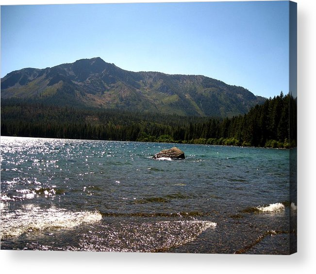 Landscape Acrylic Print featuring the photograph Fallen Leaf Lake - South Lake Tahoe by Albert Almondia