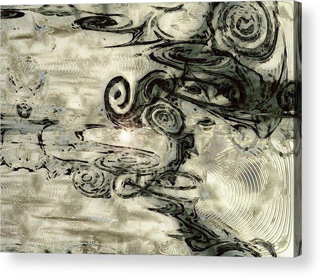 Hidden Dreams Art Acrylic Print featuring the digital art Hidden Dreams by Linda Sannuti