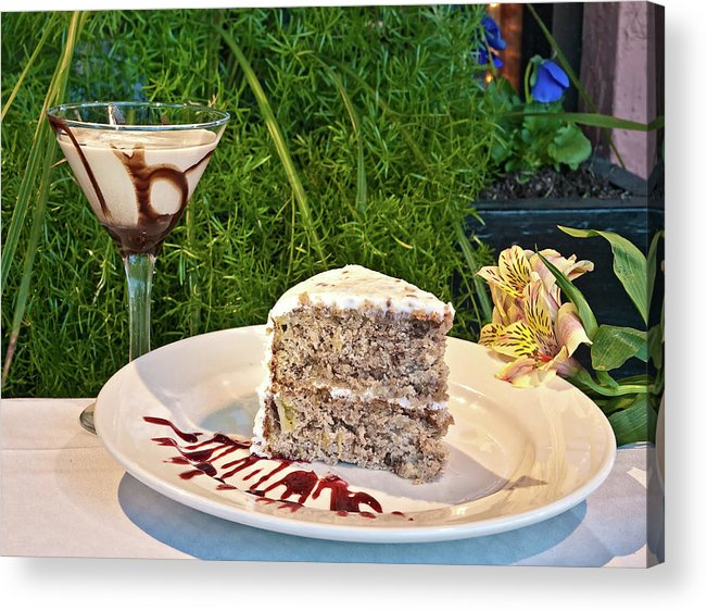 Dessert Acrylic Print featuring the photograph How About Dessert by Mike Covington