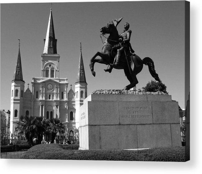 New Orleans Acrylic Print featuring the photograph Jackson Square by Shawn McElroy