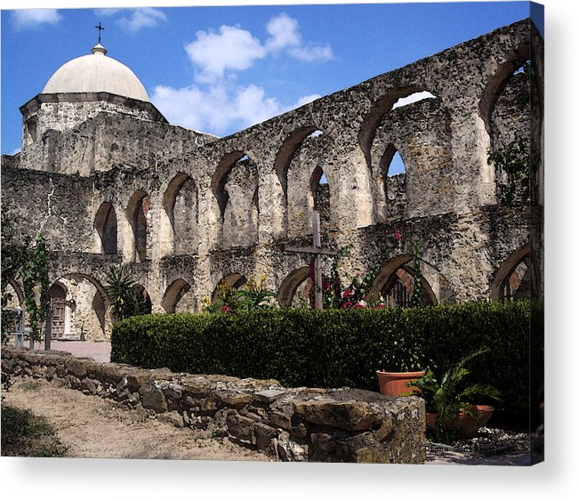 San Antonio Acrylic Print featuring the drawing Legacy by Diana Gonzalez