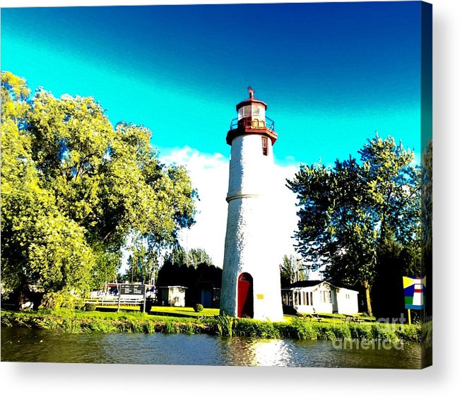 Lighthouse Acrylic Print featuring the photograph Lighthouse by Mira Dobric