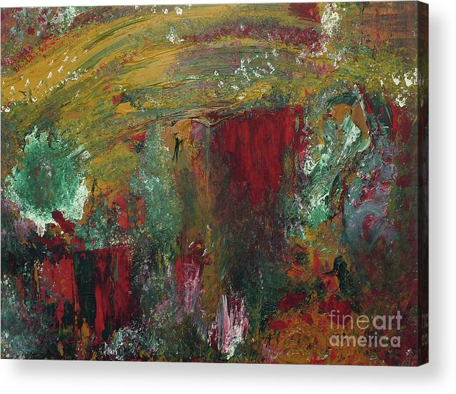 Acrylic Acrylic Print featuring the painting Madness by Leggy Two Art
