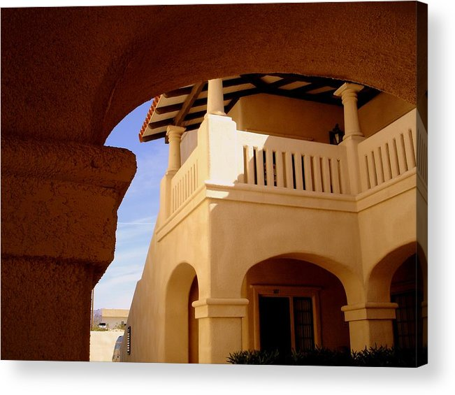 Morocco Acrylic Print featuring the photograph Moroccan Influence I by Lessandra Grimley