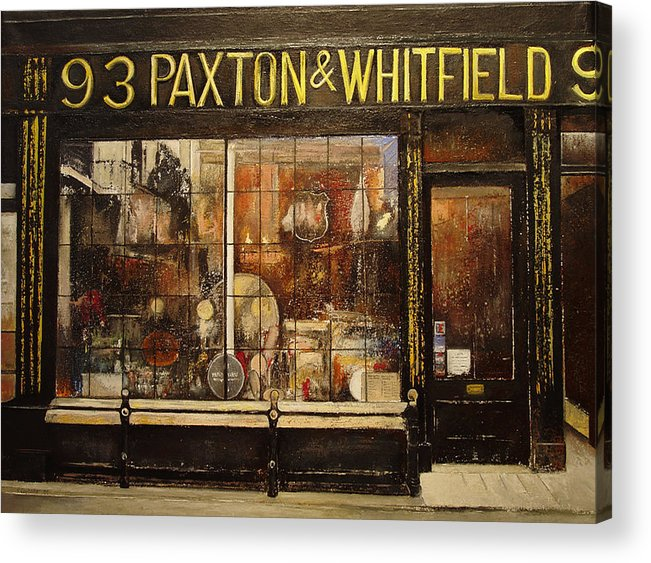 Paxton Acrylic Print featuring the painting Paxton Whitfield .london by Tomas Castano