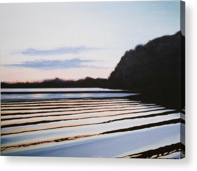 Peace Project Acrylic Print featuring the painting Peace by Hunter Jay