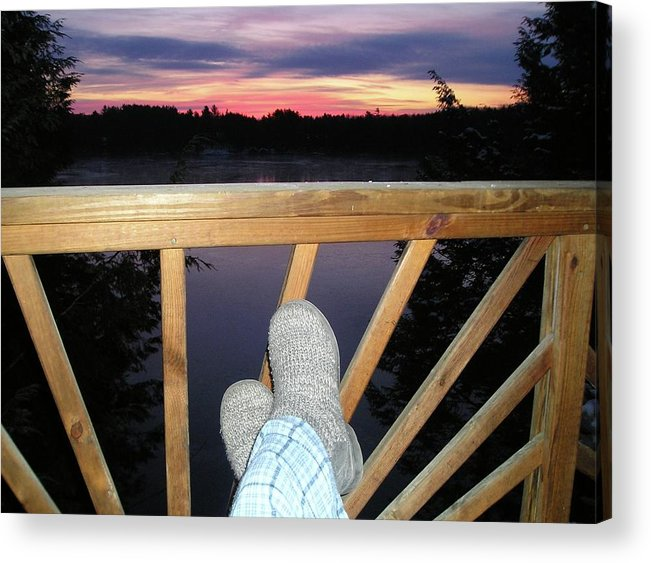 Acrylic Print featuring the photograph Peaceful View by Freddy Alsante
