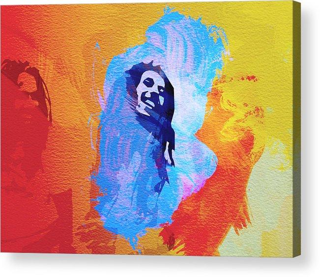 Reggae Kings Acrylic Print featuring the painting Reggae Kings by Naxart Studio