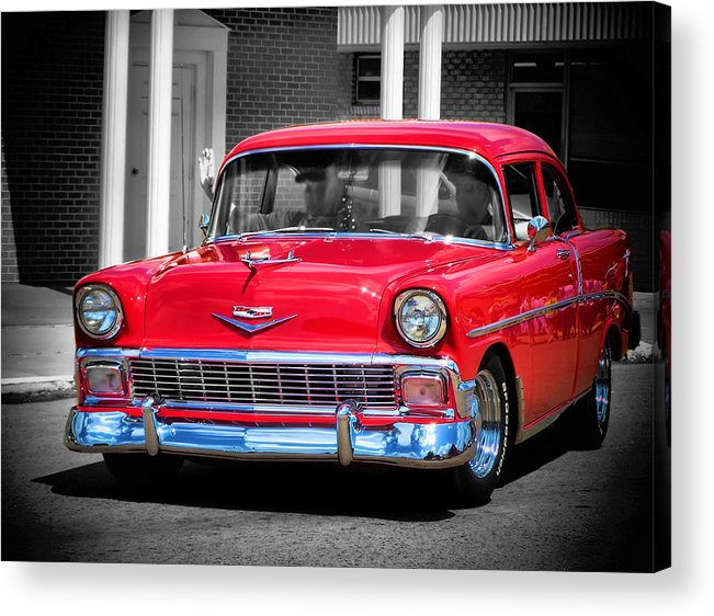 Route 66 Acrylic Print featuring the photograph Route 66 Classic by Karen Scovill