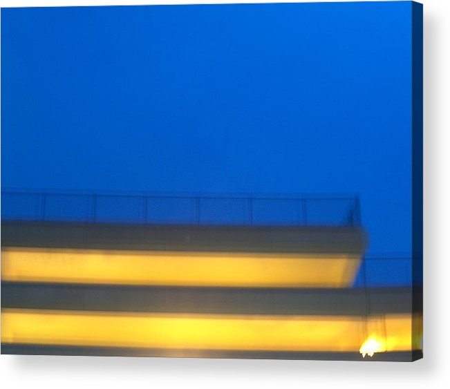 Parking Acrylic Print featuring the photograph Structure by Jacob Stempky