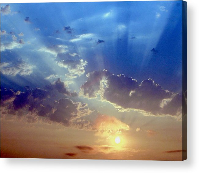 Sunrise Acrylic Print featuring the photograph Sunrise by Carl Capps