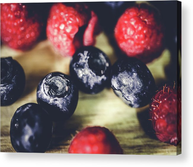 Berries Acrylic Print featuring the photograph Berries by Hyuntae Kim