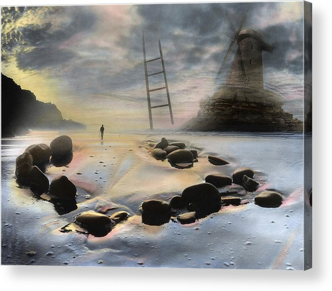 Seascape Acrylic Print featuring the photograph Explorer by Bob Bennett