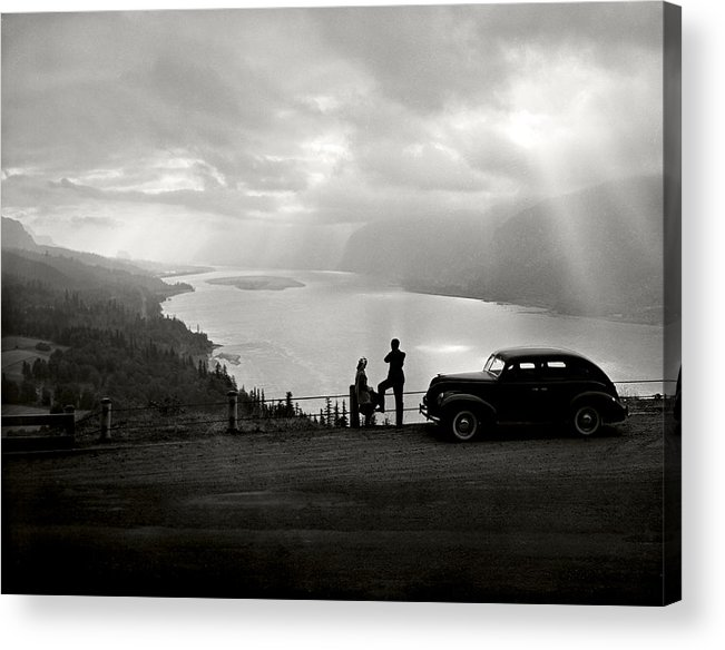 Acrylic Print featuring the photograph Columbia Gorge by Ray Atkinsen