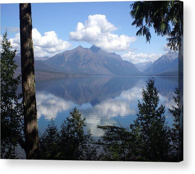 Lake Acrylic Print featuring the photograph Lake Mcdonald Glacier National Park by Marty Koch