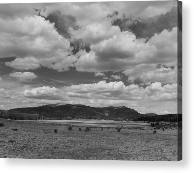 Landscape Acrylic Print featuring the photograph San Juan Summer by Allan McConnell