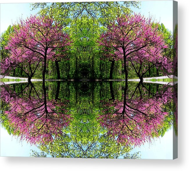 Spring Acrylic Print featuring the digital art Spring by Dale  Ford