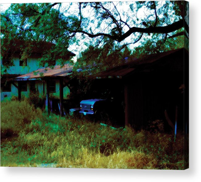 Old Acrylic Print featuring the photograph Forgotten by Carl Perry