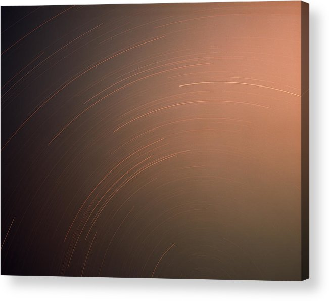 Nature Acrylic Print featuring the photograph Silver Star Dial by Benjamin Garvey