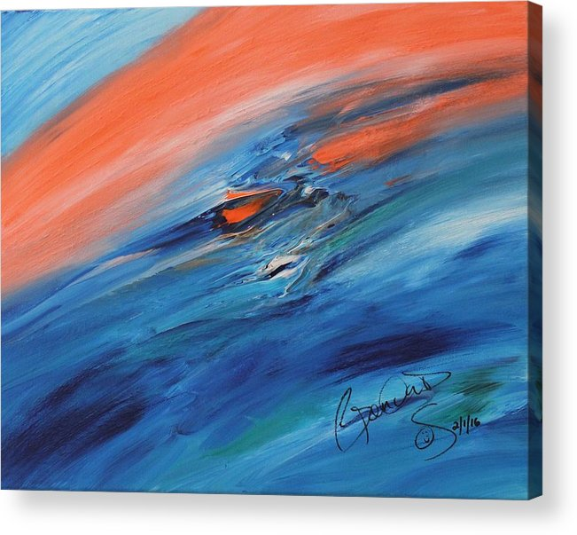 Acrylic Print featuring the painting Masterpiece Collection by Brenda Basham Dothage