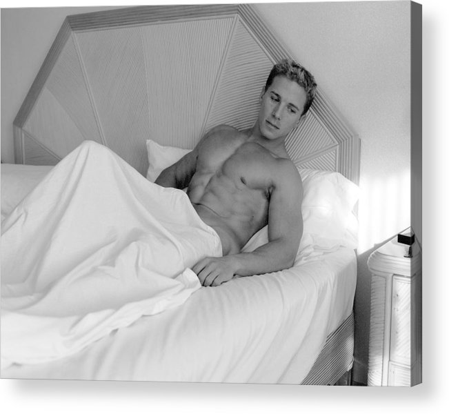 Male Acrylic Print featuring the photograph Resting by Dan Nelson