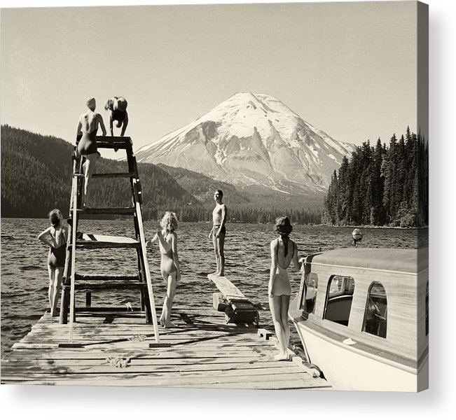 Acrylic Print featuring the photograph Spirit Lake by Ray Atkinsen