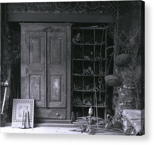 Forge Acrylic Print featuring the photograph Forge by Steve Bisgrove