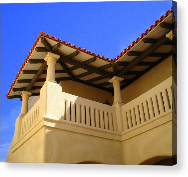 Morocco Acrylic Print featuring the photograph Moroccan Influence II by Lessandra Grimley