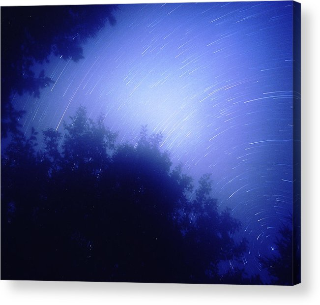 Nature Acrylic Print featuring the photograph North Star by Benjamin Garvey