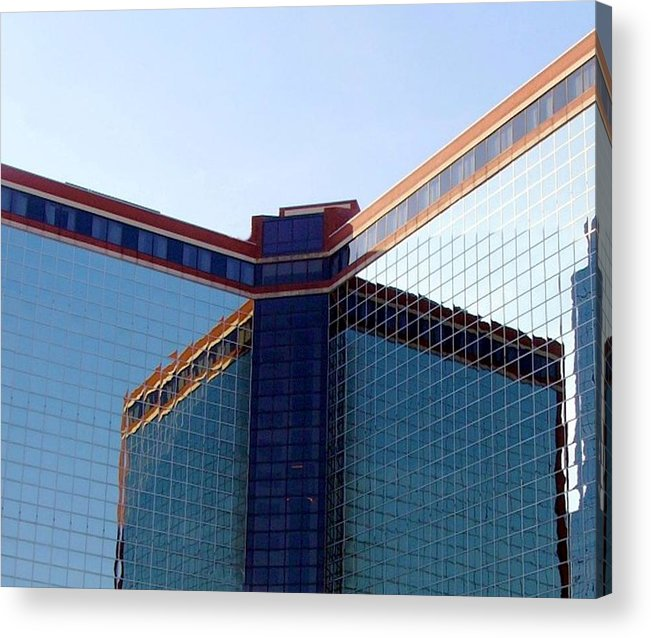 Building Acrylic Print featuring the photograph Peabody Hotel by Kenna Westerman