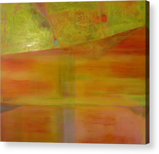 Lanscape Acrylic Print featuring the print Rubi by Meltem Quinlan