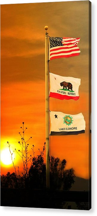 Acrylic Print featuring the photograph California Glory by Richard Gordon