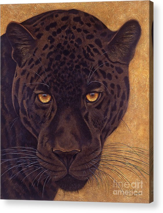 Lawrence Supino Acrylic Print featuring the painting Jag by Lawrence Supino
