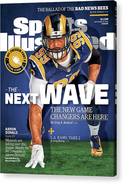 Magazine Cover Acrylic Print featuring the photograph The Next Wave The New Game Changers Are Here Sports Illustrated Cover by Sports Illustrated