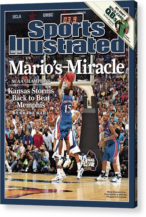 Magazine Cover Acrylic Print featuring the photograph April 14, 2008 Sports Illustrate Sports Illustrated Cover by Sports Illustrated