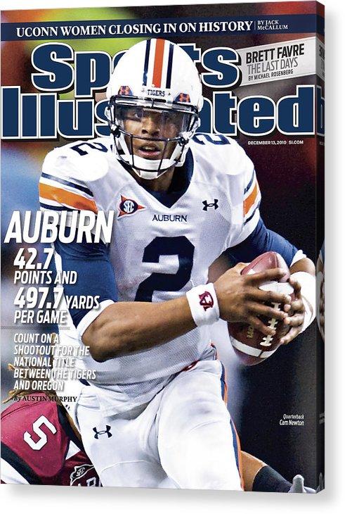 Atlanta Acrylic Print featuring the photograph Auburn University Vs University Of South Carolina, 2010 Sec Sports Illustrated Cover by Sports Illustrated