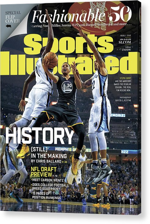 Federal Express Acrylic Print featuring the photograph History still In The Making Sports Illustrated Cover by Sports Illustrated