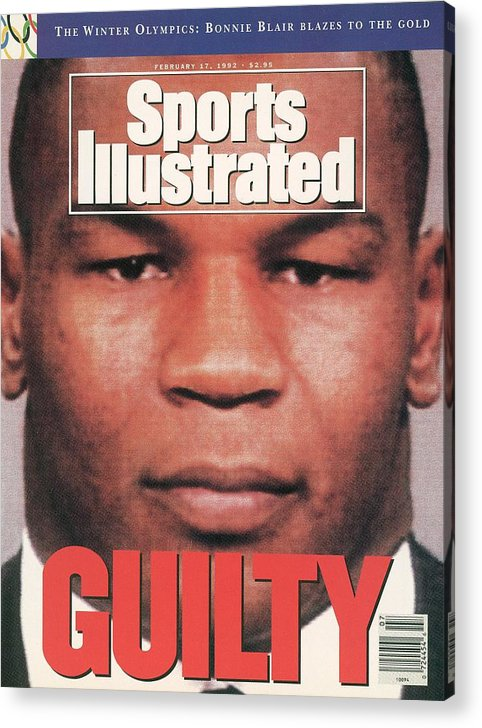 Magazine Cover Acrylic Print featuring the photograph Mike Tyson, Heavyweight Boxing Sports Illustrated Cover by Sports Illustrated