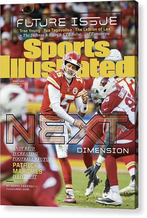 Magazine Cover Acrylic Print featuring the photograph Next Dimension Andy Reid Is Creating Footballs Future Sports Illustrated Cover by Sports Illustrated
