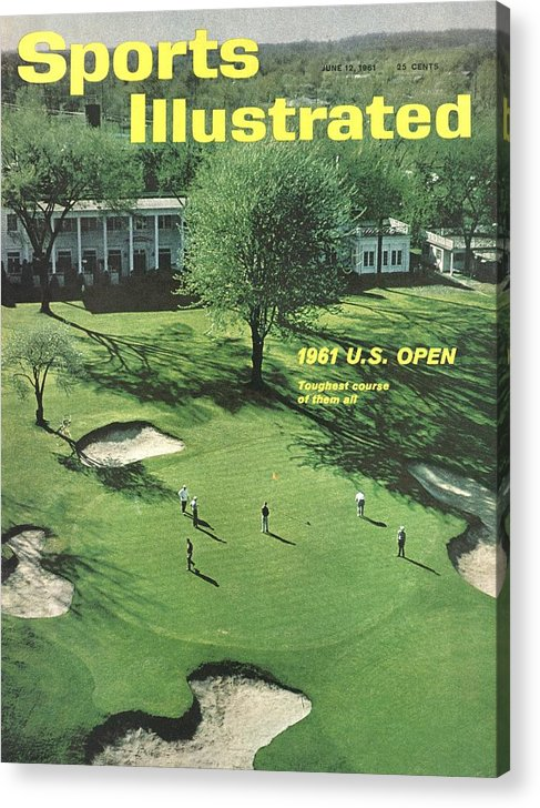 Magazine Cover Acrylic Print featuring the photograph Oakland Hills Country Club Sports Illustrated Cover by Sports Illustrated
