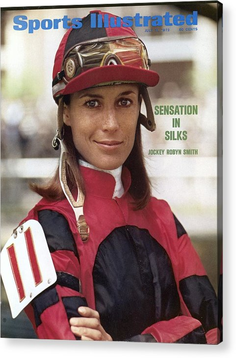 Horse Acrylic Print featuring the photograph Robyn Smith, Horse Racing Jockey Sports Illustrated Cover by Sports Illustrated