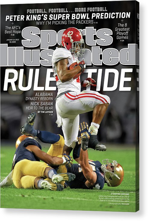 Miami Gardens Acrylic Print featuring the photograph Rule Tide Alabama Dynasty Reborn Sports Illustrated Cover by Sports Illustrated