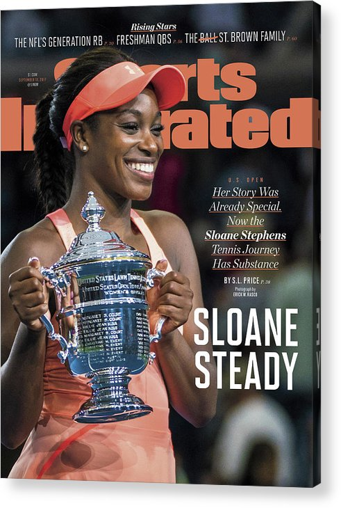 Tennis Acrylic Print featuring the photograph Sloane Steady Sports Illustrated Cover by Sports Illustrated