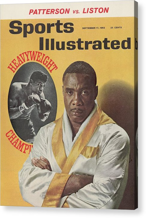 Magazine Cover Acrylic Print featuring the photograph Sonny Liston, Heavyweight Boxing Sports Illustrated Cover by Sports Illustrated