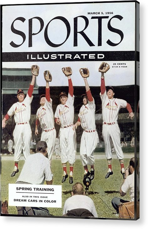 St. Louis Cardinals Acrylic Print featuring the photograph St. Louis Cardinals Sports Illustrated Cover by Sports Illustrated
