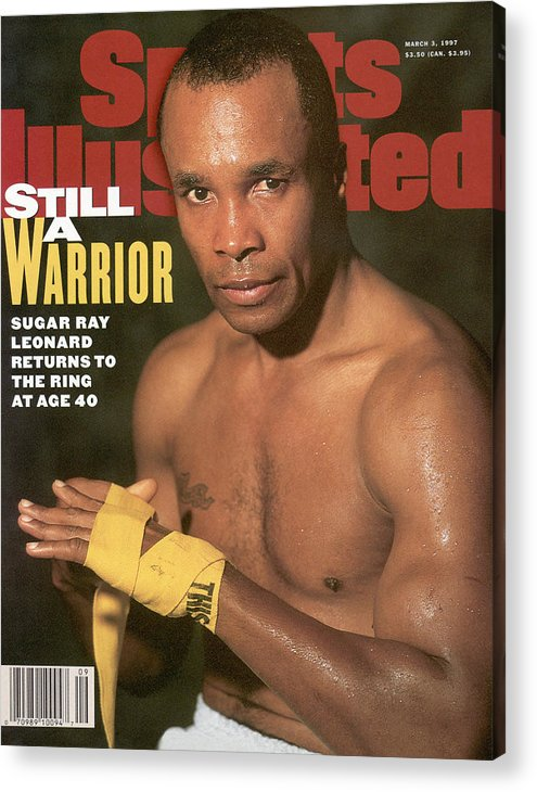 Event Acrylic Print featuring the photograph Sugar Ray Leonard, Middleweight Boxing Sports Illustrated Cover by Sports Illustrated