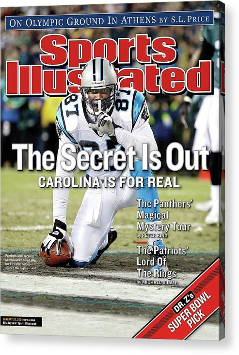 Magazine Cover Acrylic Print featuring the photograph The Secret Is Out Carolina Is For Real Sports Illustrated Cover by Sports Illustrated